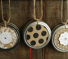 up cycled christmas ornaments with canning jar lids, christmas decorations, crafts, how to, repurposing upcycling, seasonal holiday decor