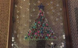 how to repurpose old window for christmas decor, christmas decorations, crafts, repurposing upcycling, seasonal holiday decor