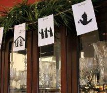 nativity banner, christmas decorations, crafts, seasonal holiday decor