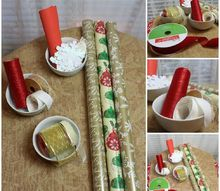 christmas gift wrapping made easy, christmas decorations, seasonal holiday decor