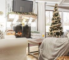 the first christmas in my first fixer upper, christmas decorations, home decor, seasonal holiday decor