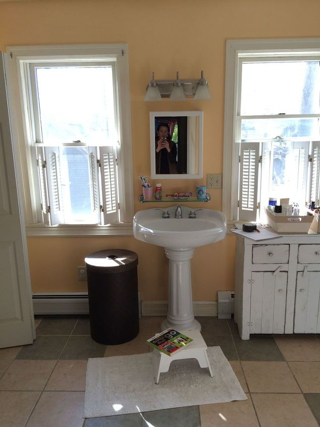Classic serene bathroom reveal hometalk for Serene bathroom ideas