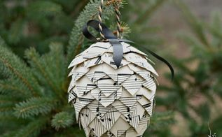 a pinecone christmas diy ornaments homeforchristmas, christmas decorations, crafts, how to, seasonal holiday decor