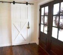how to build a barn door, diy, doors, woodworking projects