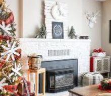 christmas home tour 2015, christmas decorations, home decor, seasonal holiday decor