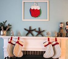 upcycled sweaters to christmas stocking, christmas decorations, repurposing upcycling, seasonal holiday decor