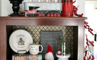 plaid inspired christmas living room, christmas decorations, home decor, seasonal holiday decor