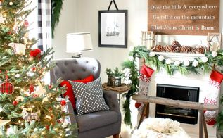 christmas living room, christmas decorations, home decor, seasonal holiday decor