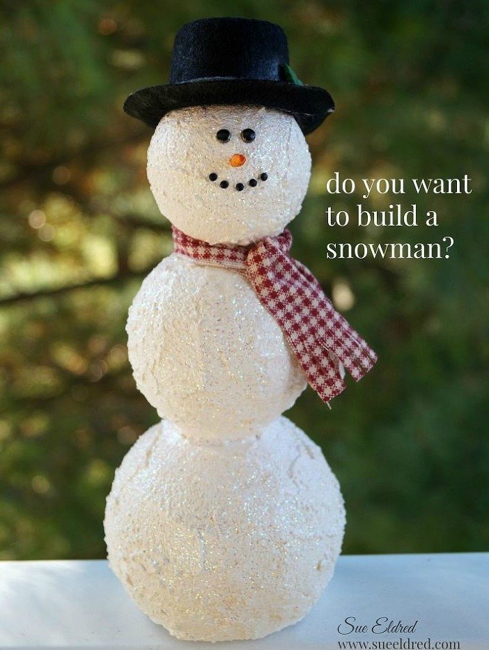 Insanely Cute Guys: 15 Insanely Cute Snowmen For Every Corner Of Your Home