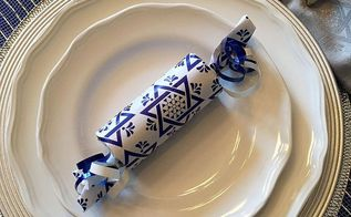 hanukkah party poppers, crafts, seasonal holiday decor