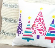 christmas pillow craft, christmas decorations, crafts, seasonal holiday decor