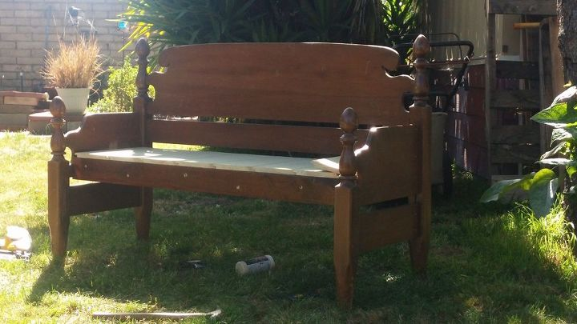 Headboard Bench Hometalk