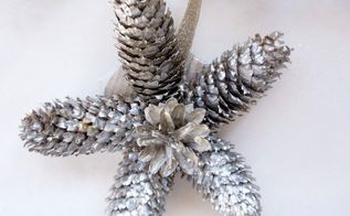 using nature to decorate for christmas, christmas decorations, crafts, seasonal holiday decor
