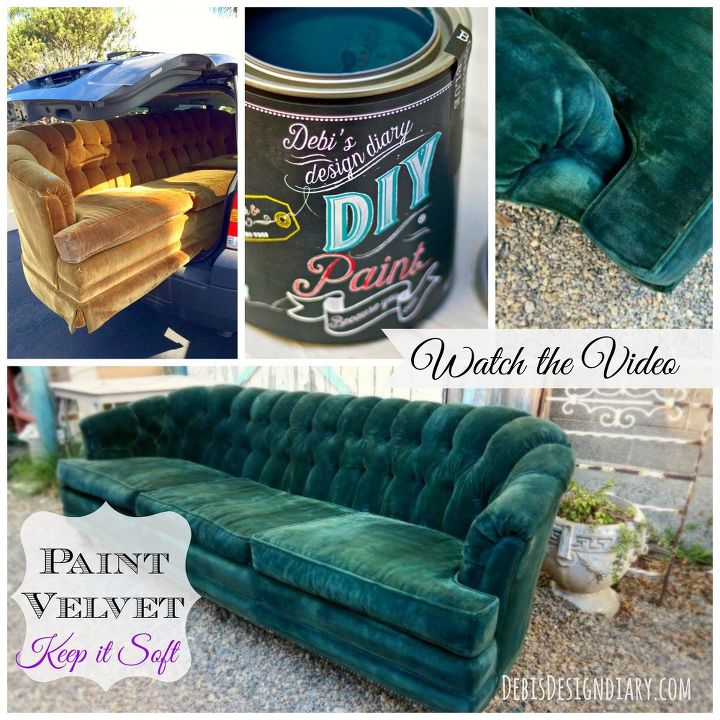 Chalk Paint To Paint Upholstery