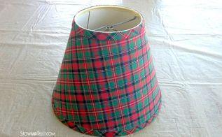 repurposed lamp shade gift basket, christmas decorations, repurposing upcycling, seasonal holiday decor