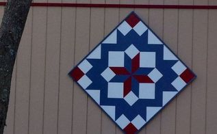 barn quilt beauty, outdoor living, wall decor, RIGHT ANGLE