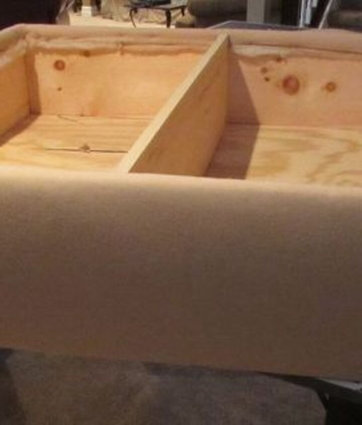 "an authentic diy ""coffee table""/storage ottoman 