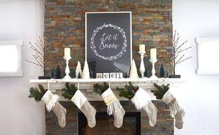 christmas mantel decorating tricks, christmas decorations, fireplaces mantels, seasonal holiday decor
