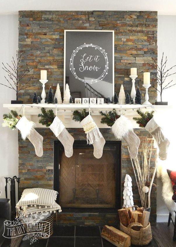 Mantel Decorating Tricks – Holiday Mantel Decor