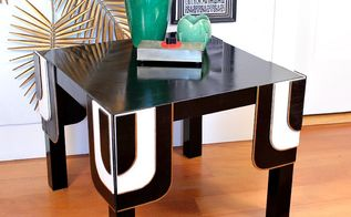 paint art deco table ikea, painted furniture