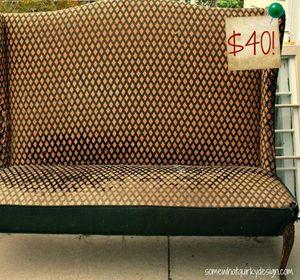 s 14 shocking furniture transformations using fabric, painted furniture, reupholster