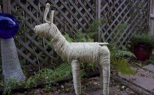 refreshed christmas reindeer, christmas decorations, seasonal holiday decor