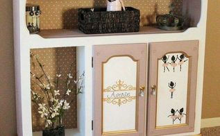 diy dress up closet, closet, painted furniture, repurposing upcycling