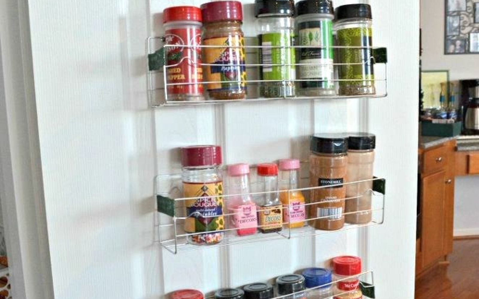 s the best organizing ideas of 2015 that you should do this year too, organizing, Storing Spices in a 1 Rack