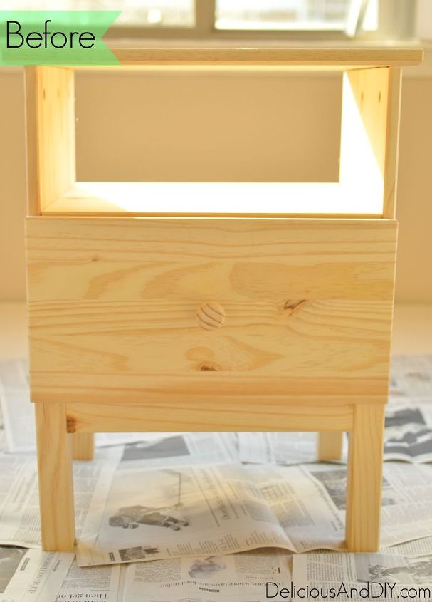 Ikea nightstand makeover hometalk Ikea furniture makeover