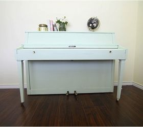 I Painted My Piano Mint And It Was Easy, Chalk Paint, Painted Furniture