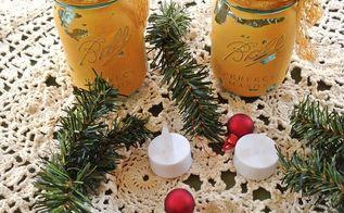 christmas decor mason jars pine, christmas decorations, crafts, mason jars, seasonal holiday decor