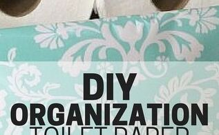 diy organization toilet paper storage, bathroom ideas, organizing, storage ideas
