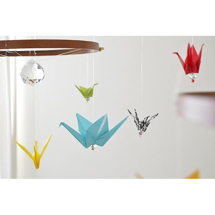 The Birds Origami Nursery Decor Hometalk