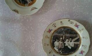 romantic china plate crafts, crafts, repurposing upcycling