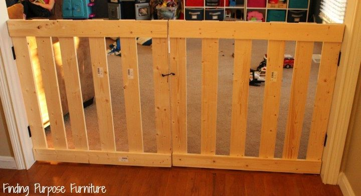 10 Minute Diy Baby Pet Gate Hometalk