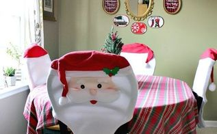 christmas in my dining room office, christmas decorations, dining room ideas, home decor, seasonal holiday decor