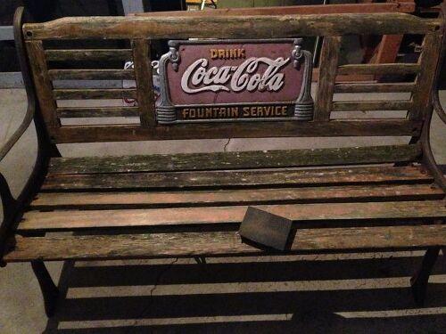 Coca Cola Wooden Bench Project Hometalk