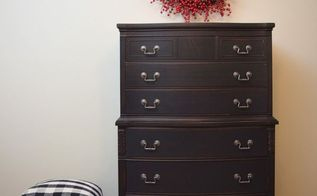 painted dresser makeover, painted furniture, AFTER