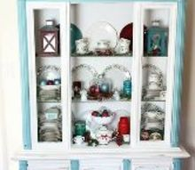 change your christmas color inexpensive, christmas decorations, painted furniture, seasonal holiday decor