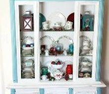 change your christmas color inexpensive, christmas decorations, painted furniture, seasonal holiday decor