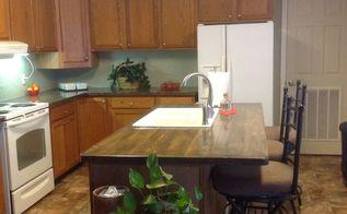 2x6 counter top, countertops, diy, kitchen design