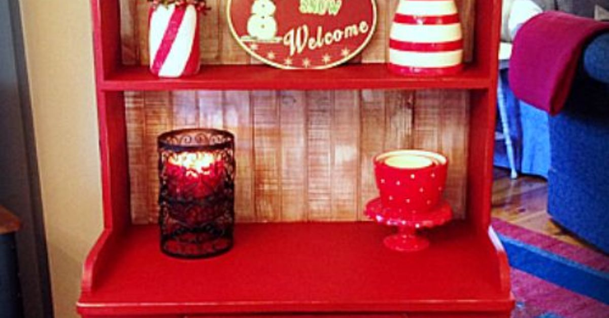 red country cupboard chalk paint painted furniture rustic furniture