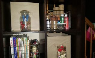 craft sewing room make over, craft rooms, organizing, storage ideas