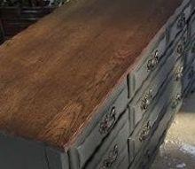 empire dresser makeover, painted furniture