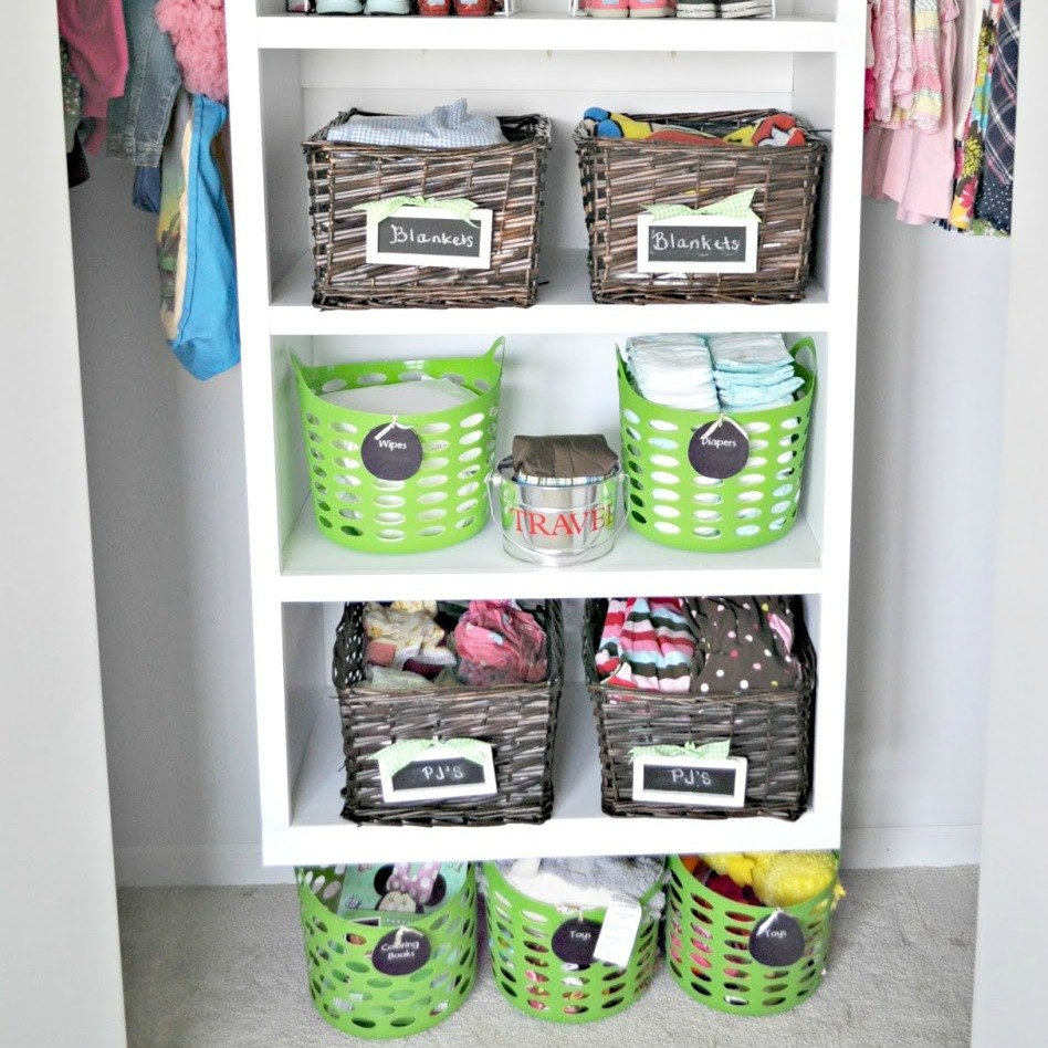Organizing With Dollar Store Items: Grab A Basket And Copy These 30 Ideas!