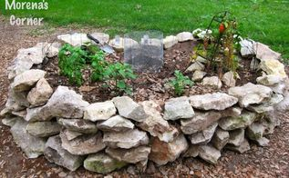 keyhole garden ideas for gardening in a hot and dry soil, gardening, homesteading, raised garden beds