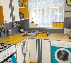 Kitchen Tour Funky And Retro, Home Decor, Kitchen Design