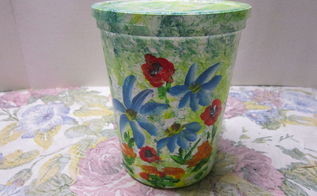 re purposing that yogurt container, crafts, repurposing upcycling