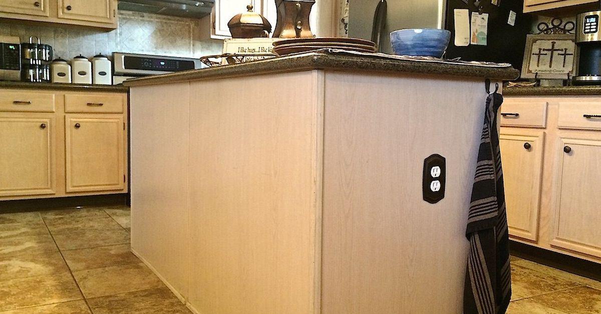 Diy Builder Grade Kitchen Island Upgrade Hometalk