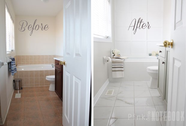 Yes You Really Can Paint Tiles Rust Oleum Tile Transformations Kit Bathroom Ideas Painting